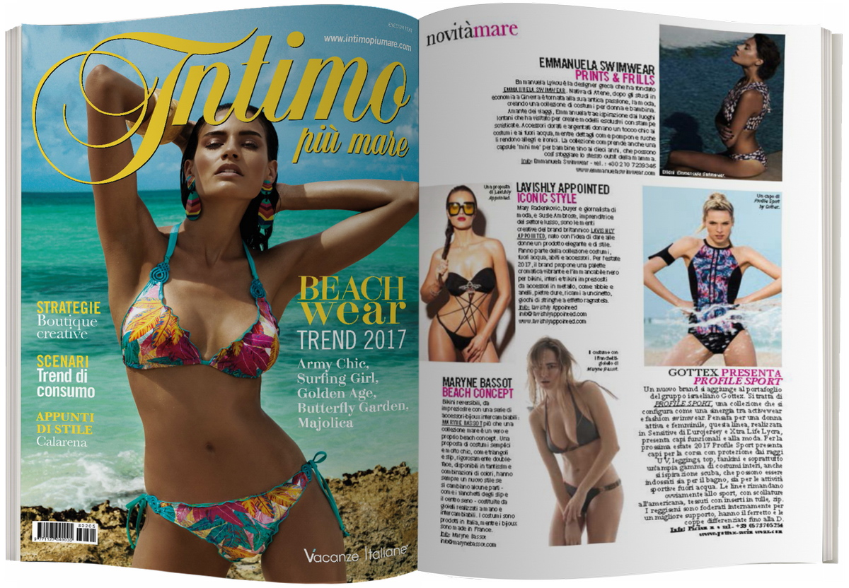 LAVISHLY APPOINTED in INTIMO PIU MARE - Septemeber 2016