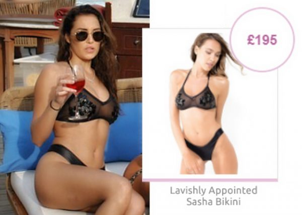 Steal Chloe in Lavishly Appointed bikini
