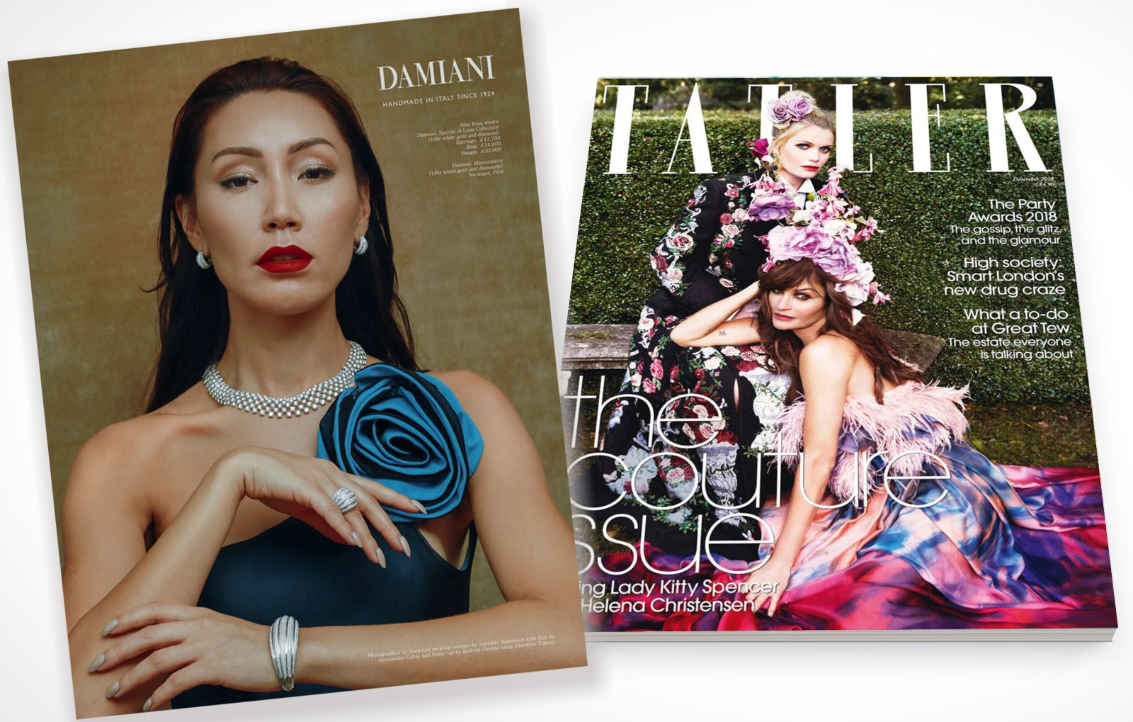 Amazing collaboration with Damiani and Lavishly Appointed