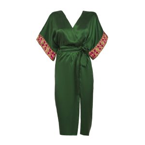 Tulum Short Green luxury swimwear