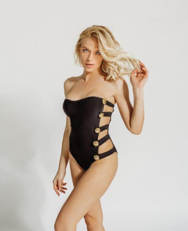 Bella Gold swimwear